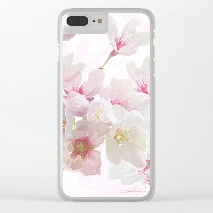 In Early Spring Clear iPhone Case