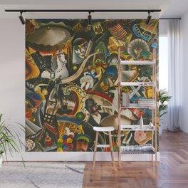 Classical Masterpiece 'The Fair in Utrecht by Pyke Koch Wall Mural