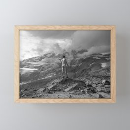 Awesome Nature Nude Hike Framed Mini Art Print