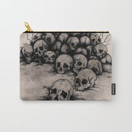Pile of Skulls Carry-All Pouch
