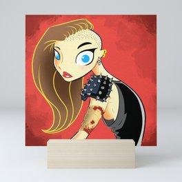 Apocalypse Girl Mini Art Print