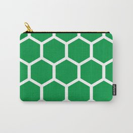 Honeycomb pattern Carry-All Pouch