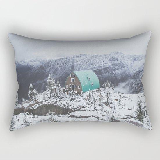 Conrad Kain Hut Rectangular Pillow