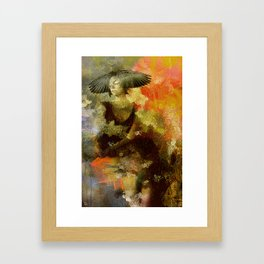 The sybil Framed Art Print