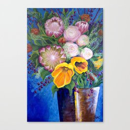 A Vase of Flowers Can Be a Willful Act of Resistance Canvas Print