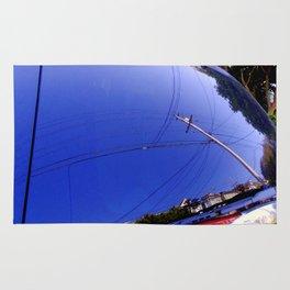 The Fish-Eye Sky, Grounded  Rug