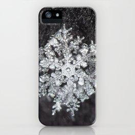 Sowflake closeup #4 iPhone Case