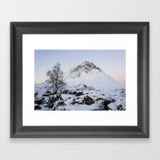 The Buachaille Etive Mor Mountain Framed Art Print