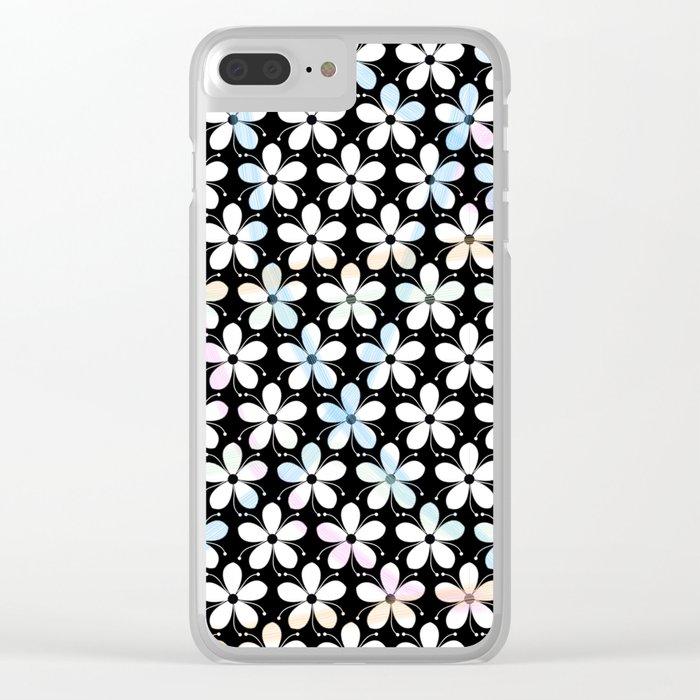 Pattern F 6 Clear iPhone Case