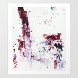 PinkLine Art Print