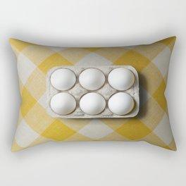 Six of one half a dozen of another. Rectangular Pillow