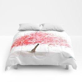 Kwanzan Cherry Tree Comforters