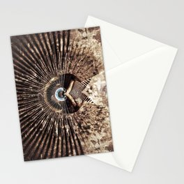 Geometric Art - WITHERED Stationery Cards