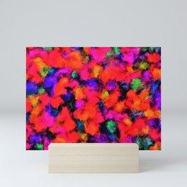 Bright Rainbow Colors Mini Art Print