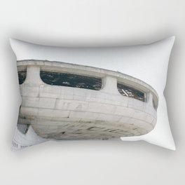 Buzludzha ufo monument brutalist architecture Rectangular Pillow