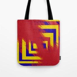 Distorsion Tote Bag