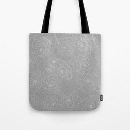 Peony Flower Pattern II Tote Bag