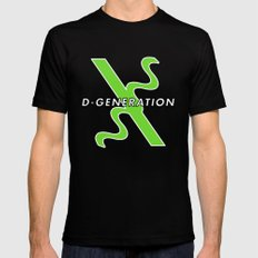 D-Generation  X MEDIUM Mens Fitted Tee Black