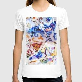 Mosaic of Barcelona VIII T-shirt