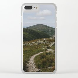 Summer in the White Mountains Clear iPhone Case