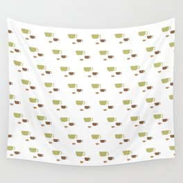 CUP PATTERN Wall Tapestry