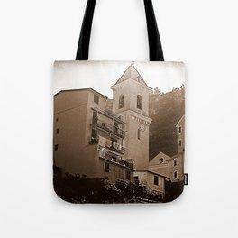 High Noon Riomaggiori Sepia Tote Bag