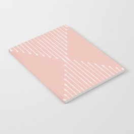 Geo / Blush Notebook