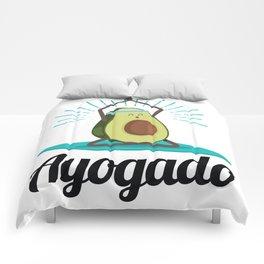 Ayogado | Yoga Avocado Comforters
