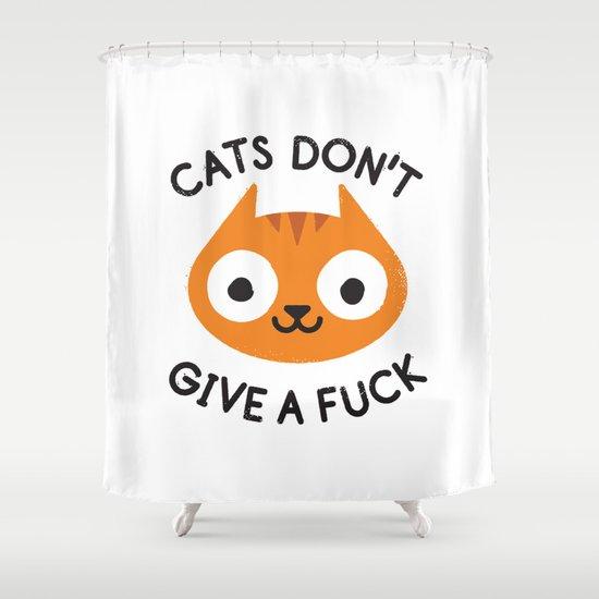 Careless Whisker Shower Curtain