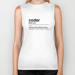 Coder Biker Tank