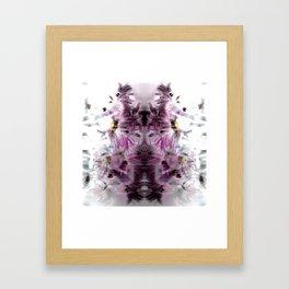 Enchanted floral Framed Art Print