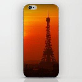 Red Paris iPhone Skin