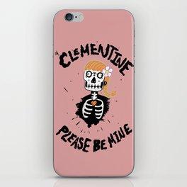 Oh, Clementine please be mine... iPhone Skin