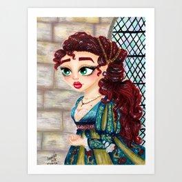 Vittoria Art Print