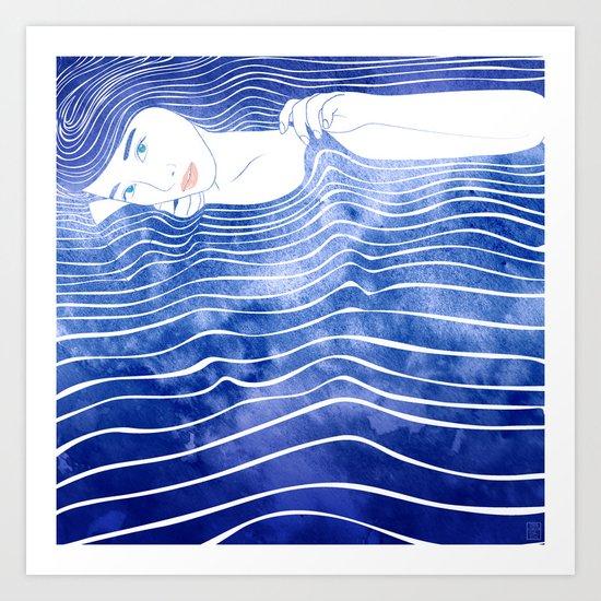 Water Nymph LXVI Art Print