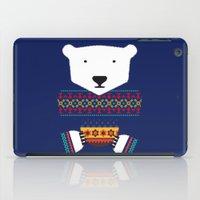 polar bear iPad Cases featuring Polar Bear by Marco Recuero