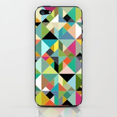 tangram geo multi iPhone & iPod Skin