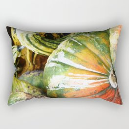 Squashed Together Rectangular Pillow