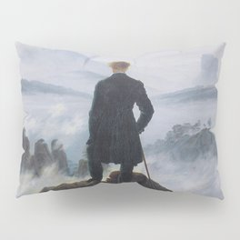 Wanderer above the Sea of Fog Pillow Sham