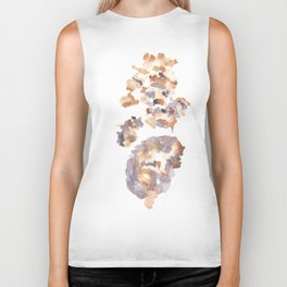 Soft Texture Watercolor | [Grief] Sparks Biker Tank