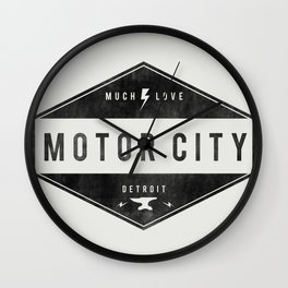Motor City | Much Love Wall Clock