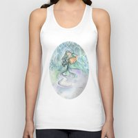 aquarius Tank Tops featuring Aquarius by Aline Souza de Souza