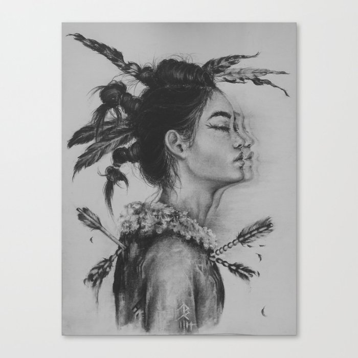 Trail of Tears Canvas Print by bellaharris | Society6