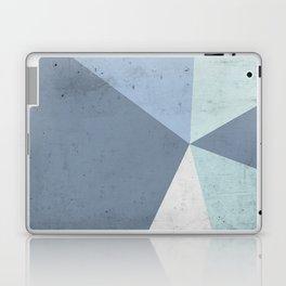 Winter Blue Geometry Laptop & iPad Skin