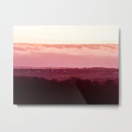Sunset in Pink bywhacky Metal Print