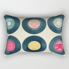 Vinyl Collection Rectangular Pillow