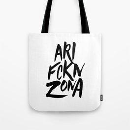 ARI FCKN ZONA Tote Bag