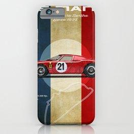 Le Mans Vintage LM iPhone Case