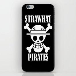 straw hat pirates iPhone Skin