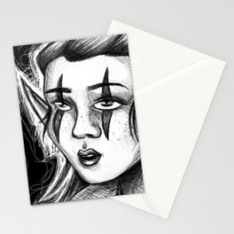 Spooky Elf Stationery Cards